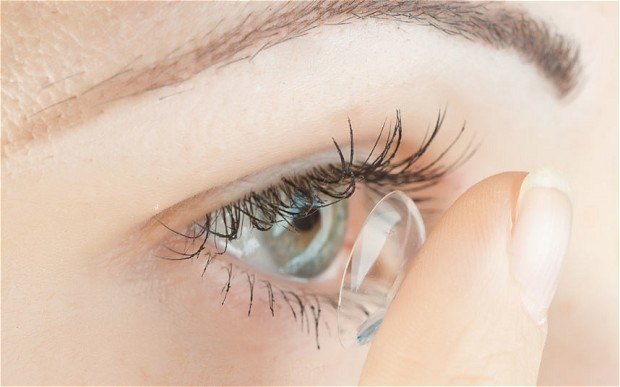 contact lens wear