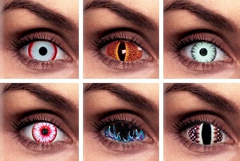 Be Aware of the Dangers of Cosmetic Contact Lenses this ...