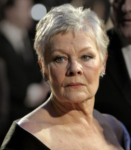 Judi Dench recently revealed she was suffering with macular degeneration
